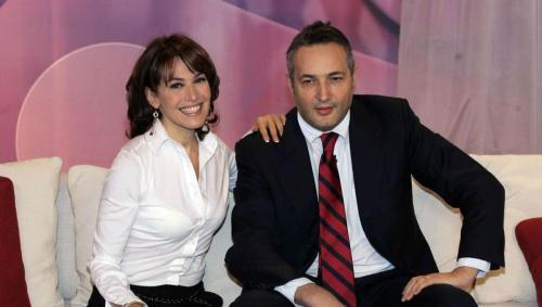 Caludio Brachino e Barbara D'Urso