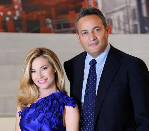 Claudio Brachino e Federica Panicucci
