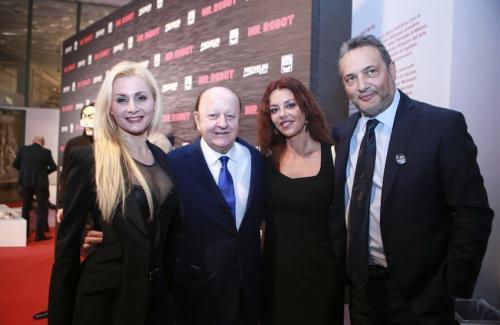 Brachino con Massimo Boldi