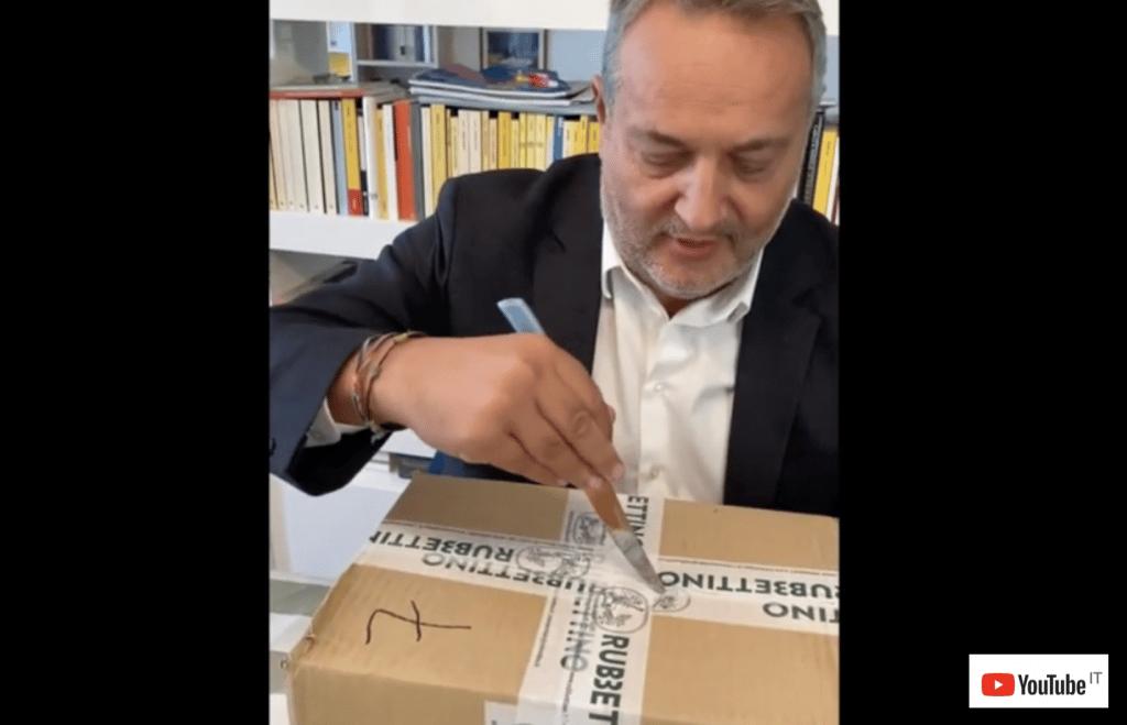 Claudio Brachino prime copie di Avere o non Avere